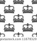 紋章 無縫的 冠 11678320