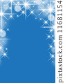 Blue christmas background 11681154