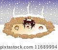 冬季温泉 11689994