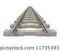 the train track 11705493