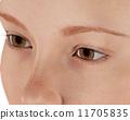 人物 眼睛 瞳孔 11705835