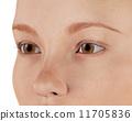 人物 眼睛 瞳孔 11705836