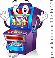 Slot Machine Mascot 11706229