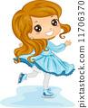Female Ice Skater 11706370