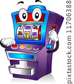 Slot Machine Mascot 11706388