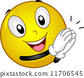 Clapping Smiley 11706545