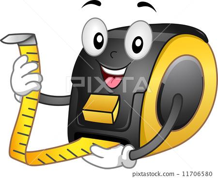 Tape Meter Mascot 11706580