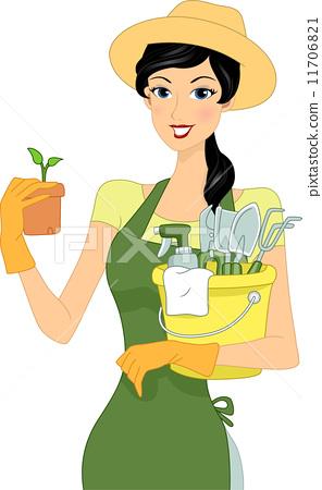 Gardening Girl 11706821