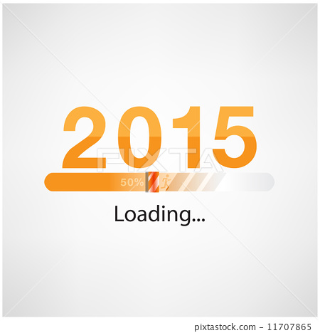 New year 2015 loading background,happy new year template 11707865