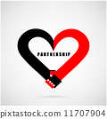 illustration, symbol, heart 11707904