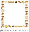 麵包房 矢量 麵包 11716803