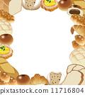 面包房 面包 矢量 11716804