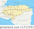 นิการากัว,แผนที่,ฮอนดูรัส 11717291