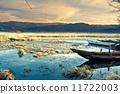 瀘沽湖木船 11722003