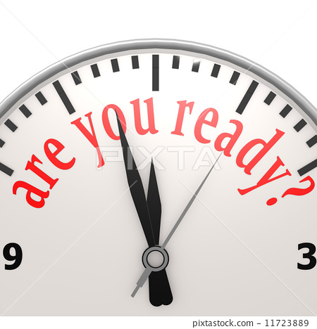 Are you ready clock 11723889