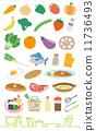 야채, 과일, 요리 11736493