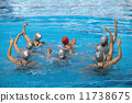Synchronized swimmers 11738675