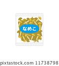滑菇 矢量 滑子菇 11738798