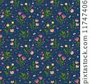 草莓 装饰性的 花香 11747406