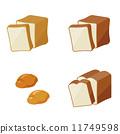 벡터, 빵, 변형 11749598