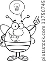 antenna bee animal 11750745