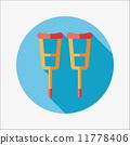 aid, cane, crutch 11778406