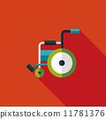 輪椅 輪子 車輪 11781376