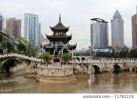 中国贵阳甲秀楼 11785229