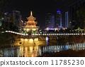 中國貴陽甲秀樓夜景 11785230