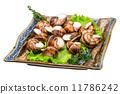 escargot dish food 11786242