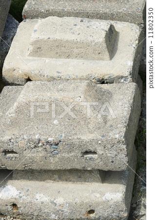 콘크리트 블록 11802350