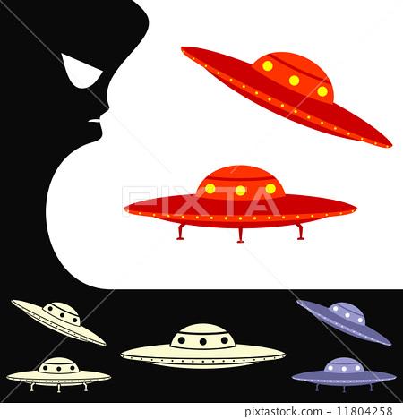 UFO. Set of objects 11804258