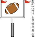 American Football Goal 11805769