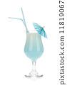 umbrella, cocktail, coconut 11819067