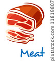 牛肉 牛排 猪肉 11819807