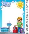 tourism, frame, composition 11822468