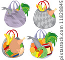 vector, shopping, bag 11828845