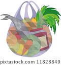 vector, shopping, bag 11828849