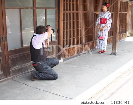 Female model shooting landscape 3 11836441