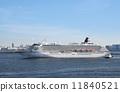 อะซึกะⅡเข้าสู่ท่าเรือโยโกฮาม่า 11840521