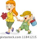 Gardening Siblings 11841215