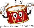 Drum Mascot 11841679