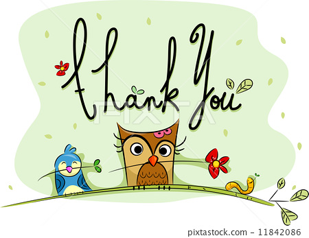 Thank You Card 11842086