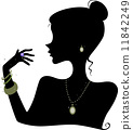 Fashion Accessories Silhouette 11842249