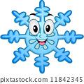 Snowflake Mascot 11842345