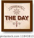 vintage, typographic, design 11843813