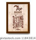 vintage, typographic, design 11843814