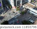 crossing shibuya in 11850796
