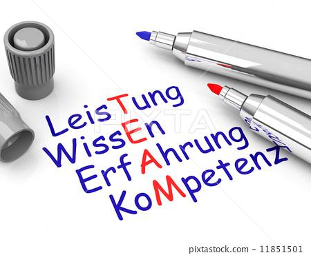 the team (german words) 11851501