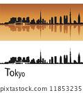 Tokyo skyline 11853235